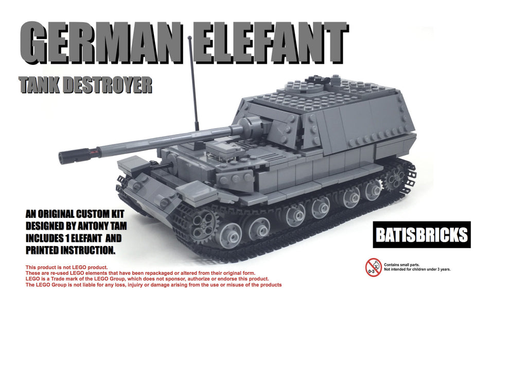 WWII German Elefant