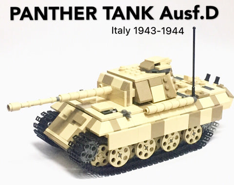 PANTHER TANK Ausf.D Italy 1943-1944