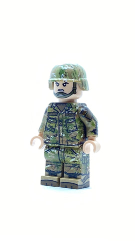 Multicam CAMO Army soldier