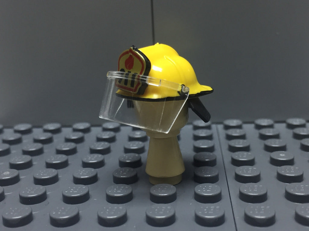 US FIREFIGHTERS HELMET YELLOW