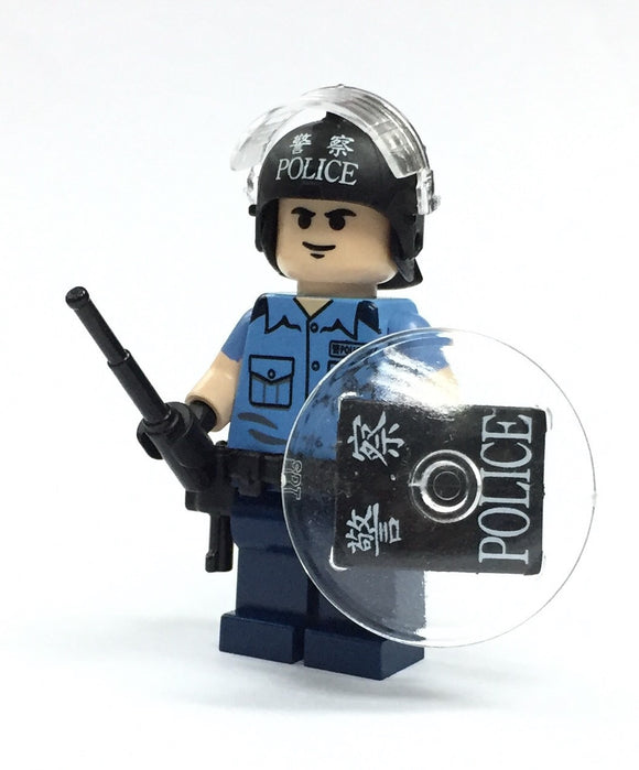POLICE RIOT BLUE UNIFORM