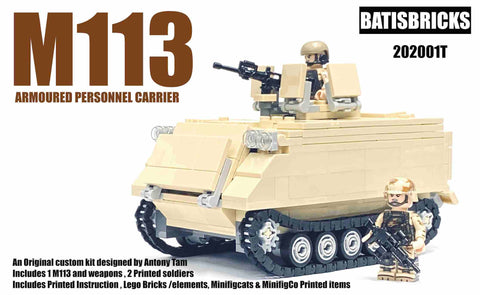 M113 Tan with combat soldiers kit