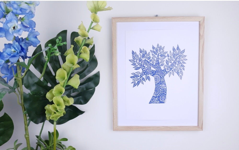 Talisman Print | Tree of Life
