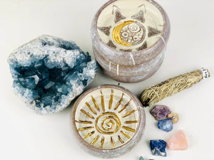 Crescent Moon Smudge Set