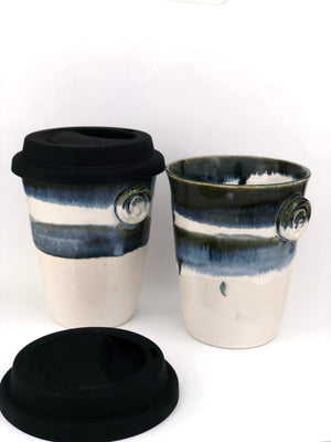 Snowscapes Ceramic Travel Cup