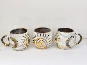 Sacred Full Moon - Moon Phases Ceramic Cup