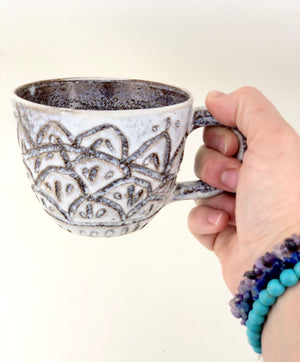 "Sacred Earthscapes ""Beyond the Grass""  Ceramic Cup"