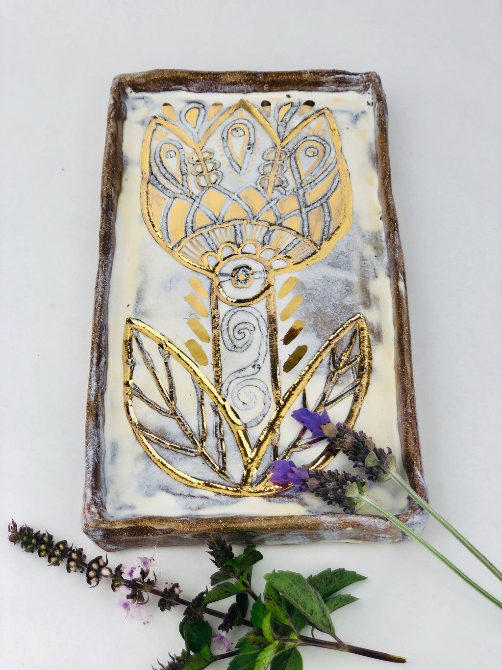 Talisman Flower Tile