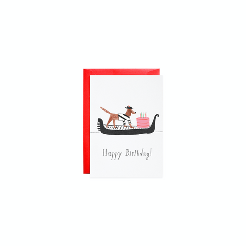 Cake Delivery - Petite Mini Birthday Card