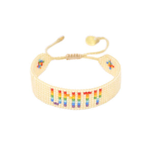 Rainbow Unity Bracelet - Mulberry & Me Chicago Boutique