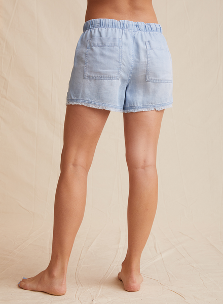 Frayed Pocket Short - Mulberry & Me Chicago Boutique