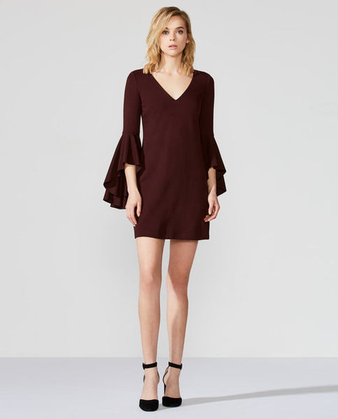 Avalanche Bell Sleeve Dress - Mulberry & Me