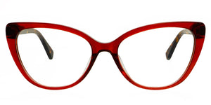 Freyrs Chicago Blue light non-prescription glasses red cat eye