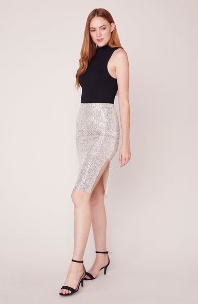 Spark Joy Sequin Skirt - Mulberry & Me