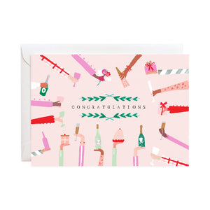 Cheers to You - Congratulations Card - Mulberry & Me