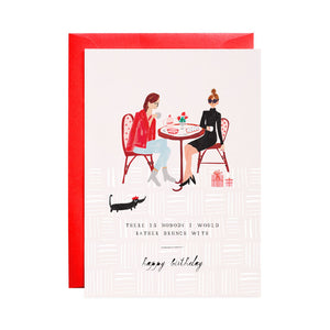 """Another Latte"" Birthday Card"
