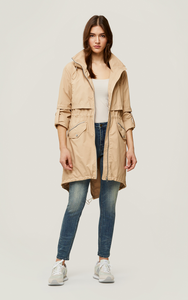 Desiree Knee-Length Water-Repellent Jacket