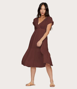Illana Surplice Dress - Mulberry & Me
