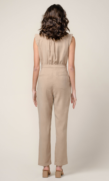 Haven Tencel Utilitarian Jumpsuit