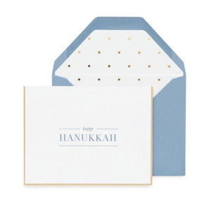 """Happy Hanukkah"" Card"
