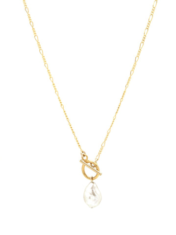 Madam Pearl Toggle Necklace