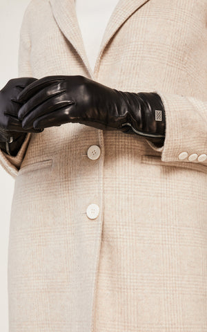 Meena Tech-Friendly Leather Gloves