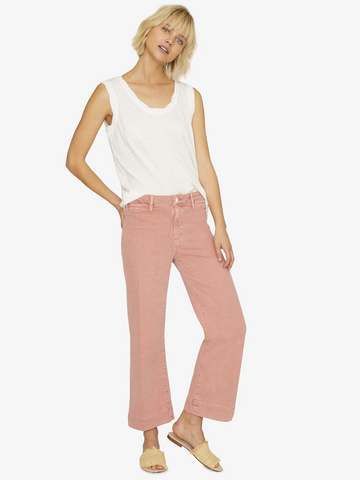 Non Conformist Wide Leg Crop Jeans - Mulberry & Me Chicago Boutique