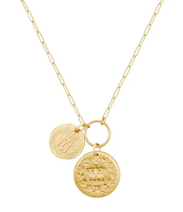 Lux Coin Necklace