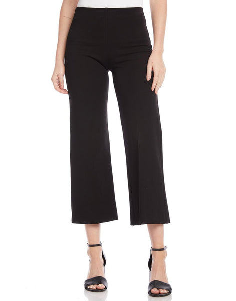 Wide Leg Cropped Pants - Mulberry & Me Chicago Boutique