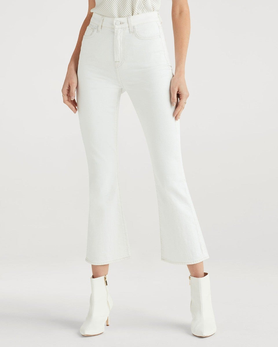 High Waist Slim Kick - Mulberry & Me Chicago Boutique