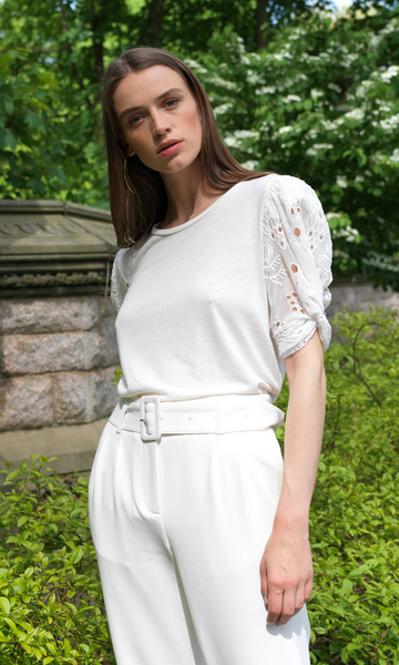 Coco Embroidery Top - Mulberry & Me Chicago Boutique