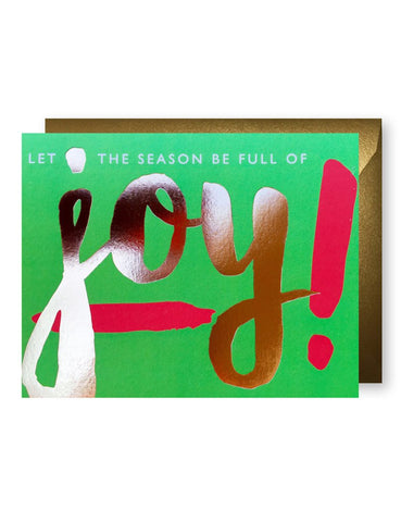 """Full of Joy"" Card"
