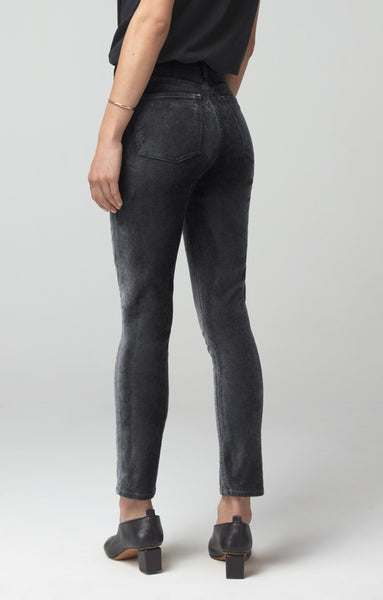 Olivia High Rise Velvet Pant - Mulberry & Me Chicago Boutique