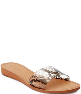 Rejoice Sandal - Python - Mulberry & Me Chicago Boutique