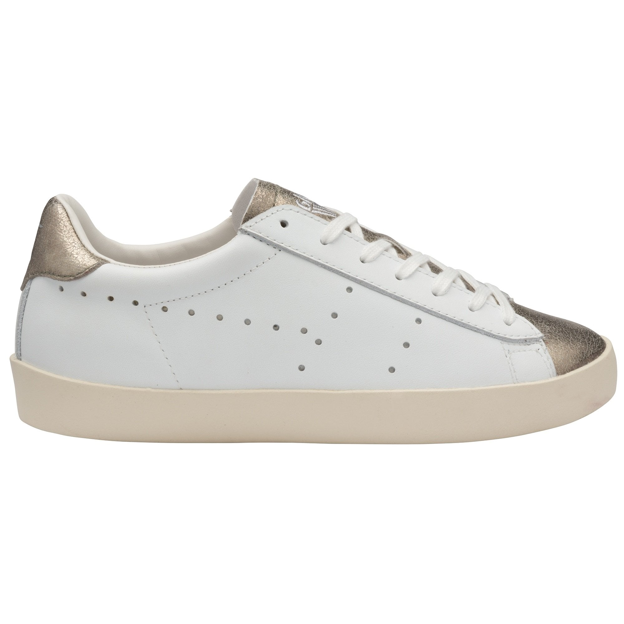 Nova Metallic Leather Sneaker