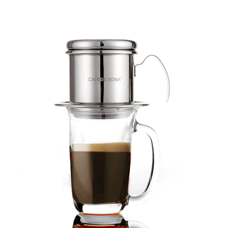 Stainless Steel Vietnamese Style Coffee Dripper Coffeegearplus