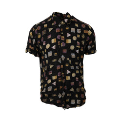 Shapes Party Button Up (M-L) - Spike Vintage