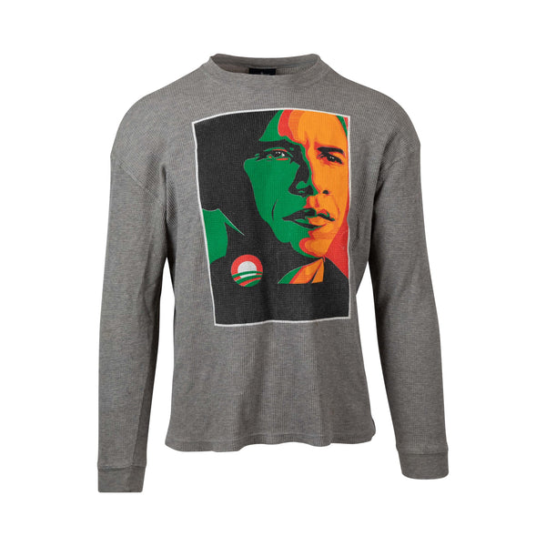 Barack Obama Long Sleeve Print (M) - Spike Vintage