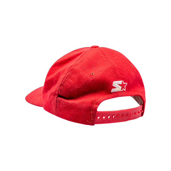 Chicago Bulls Cap (Red) - Spike Vintage