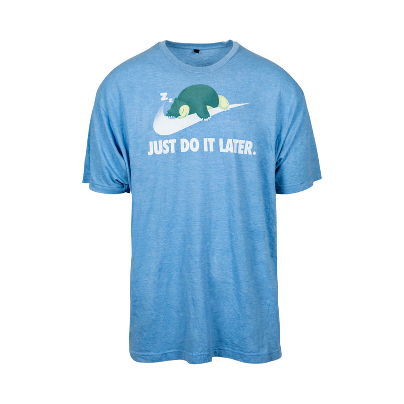 Snorlax Says 'Just Do It Later' Tee (XL) - Spike Vintage