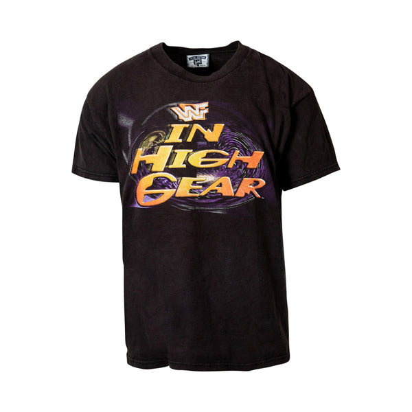 Vintage WWF 'In High Gear' 1995 Tee (L) - Spike Vintage