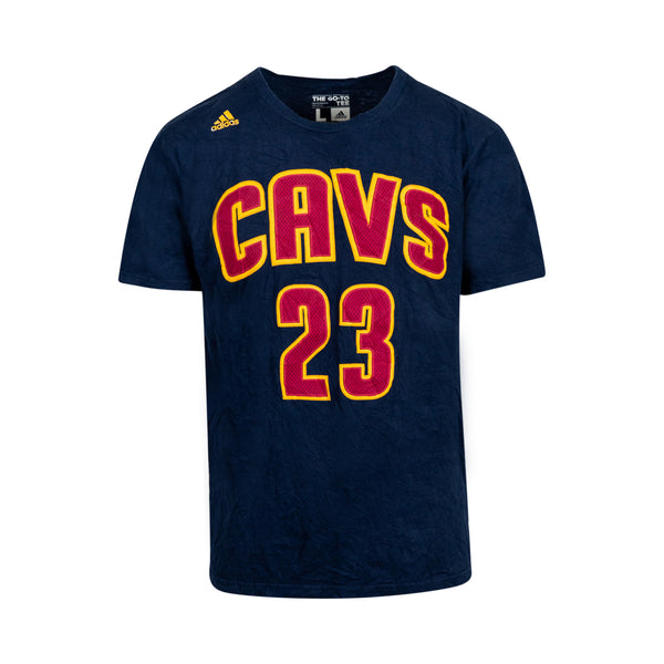 Adidas LeBron James CAVS 23 Tee (L)