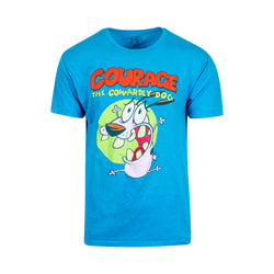 Courage The Cowardly Dog Tee (M)