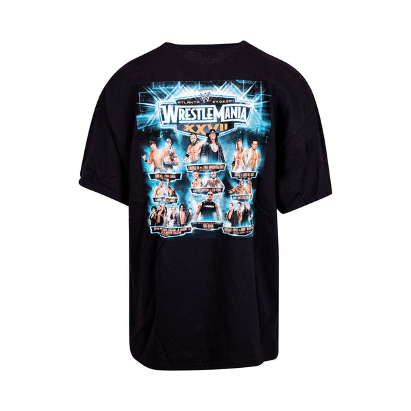 WWE WrestleMania Atlana 2011 Tee (2XL) - Spike Vintage