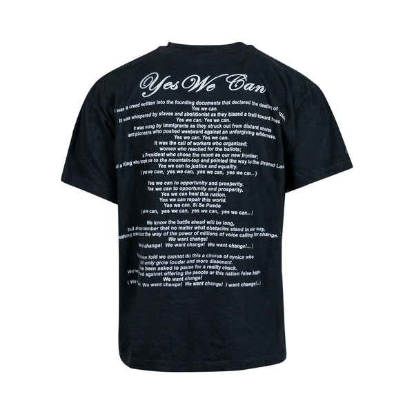 Vintage Barack Obama 'Yes We Can' Bootleg Rap Tee (L) - Spike Vintage