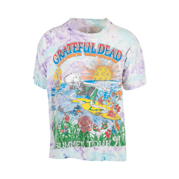 Grateful Dead Summer Tour '94 All-Over Print Tee (L) - Spike Vintage