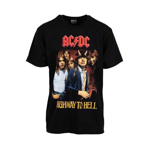 AC-DC Highway To Hell Tee (L) - Spike Vintage