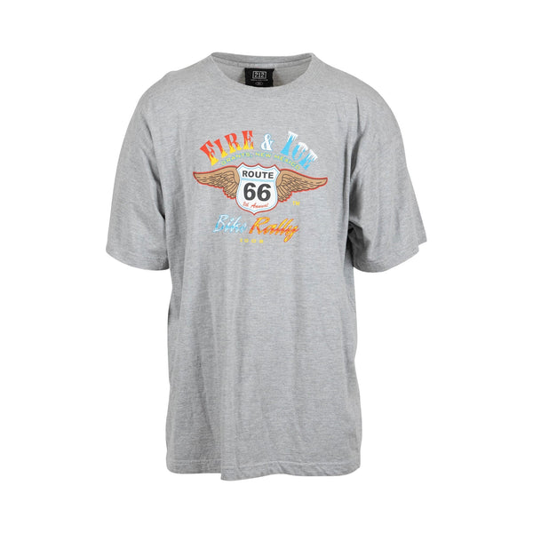 Fire & Ice Bike Rally Tee  (2008) (XXL) - Spike Vintage
