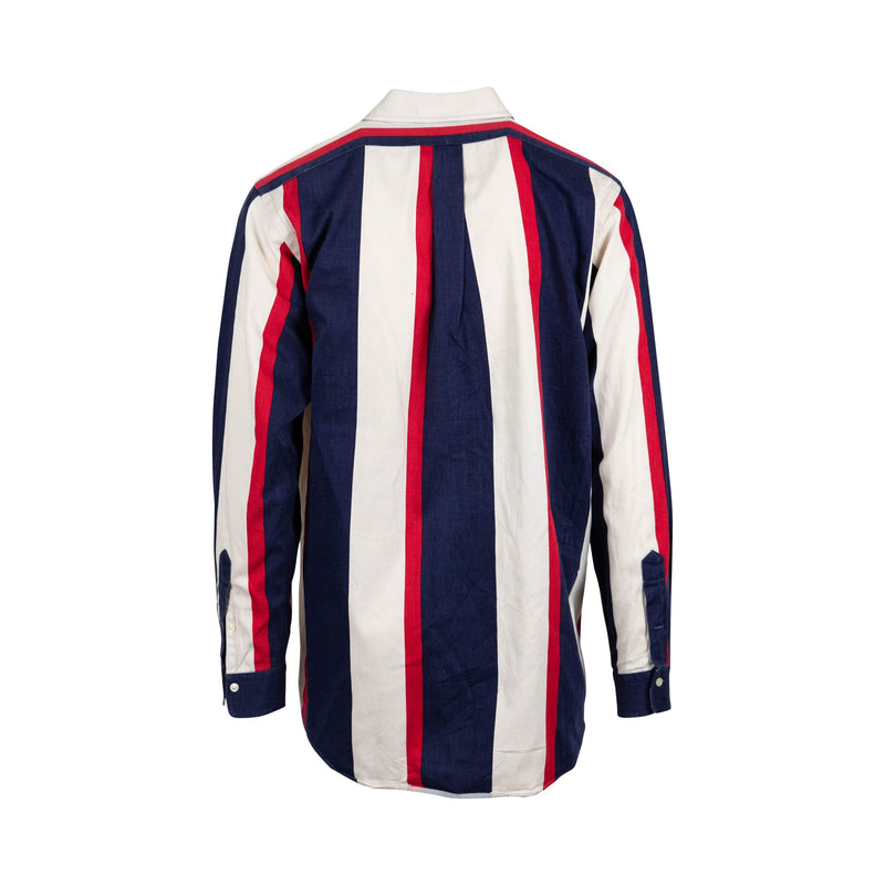 Ralph Lauren Striped Button-Up (L) - Spike Vintage