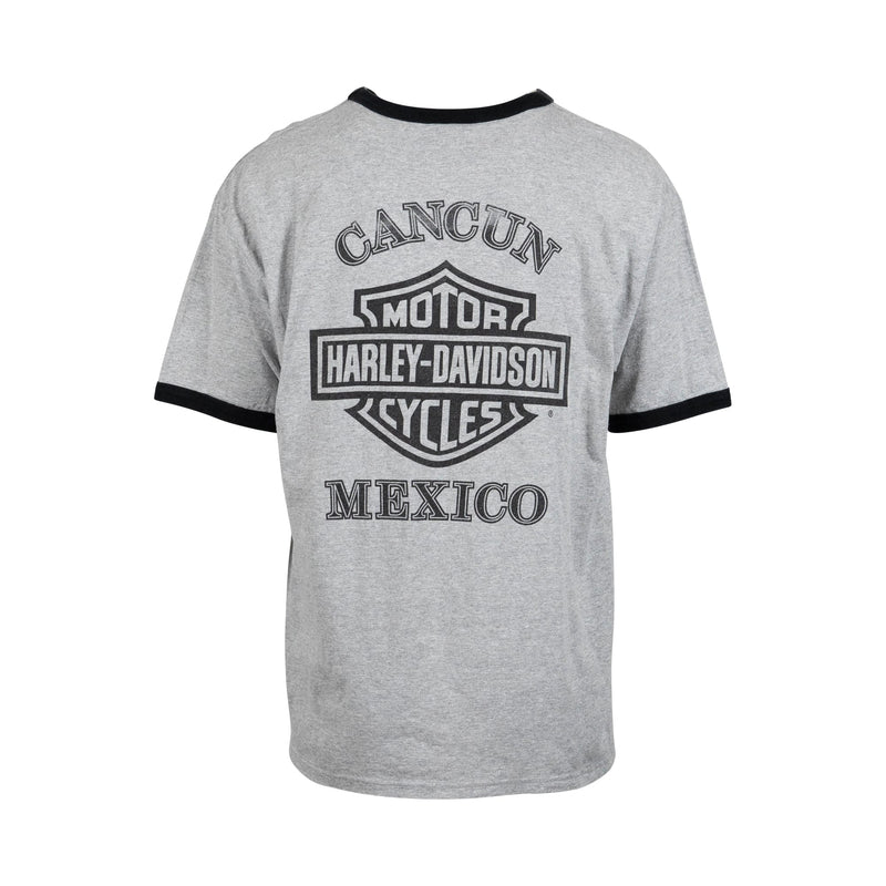 Vintage Harley Davidson Cancun Mexico Tee (XL) - Spike Vintage